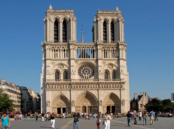 Một kiến trúc tân cổ điển ở Pháp