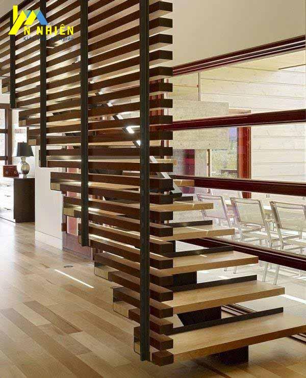 sử dụng lam gỗ để trang trí nội thất