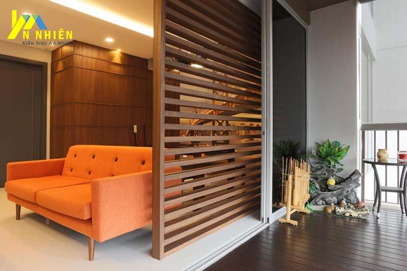 Lam gỗ tạo được điểm nhấn đặc biệt trong mọi loại kiến trúc