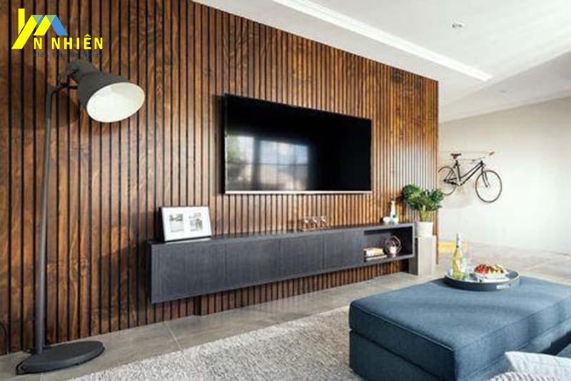 lam gỗ cho phòng khách
