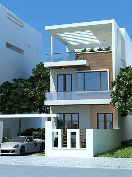 tuyển tập những mẫu thiết kế nhà phố đẹp