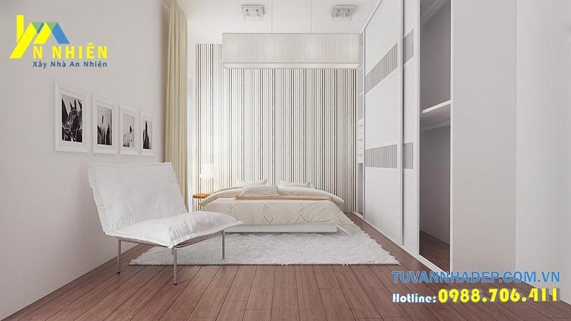 không gian phòng ngủ hiện đại đơn giản
