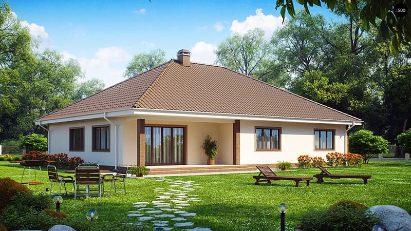 Kiến trúc căn nhà cấp 4 tối giản
