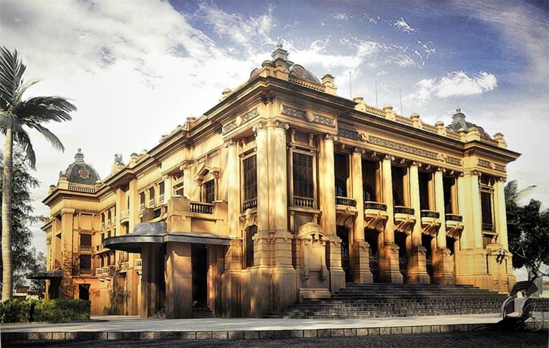 Nhà hát lớn nhà nội kiến trúc tân cổ điển