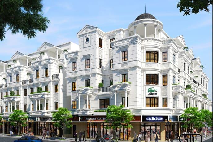 Nhà đẹp khu Phùng Khoang