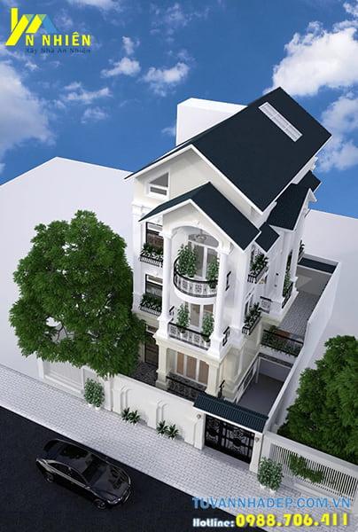 Kiến trúc nhà phố tân cổ điển