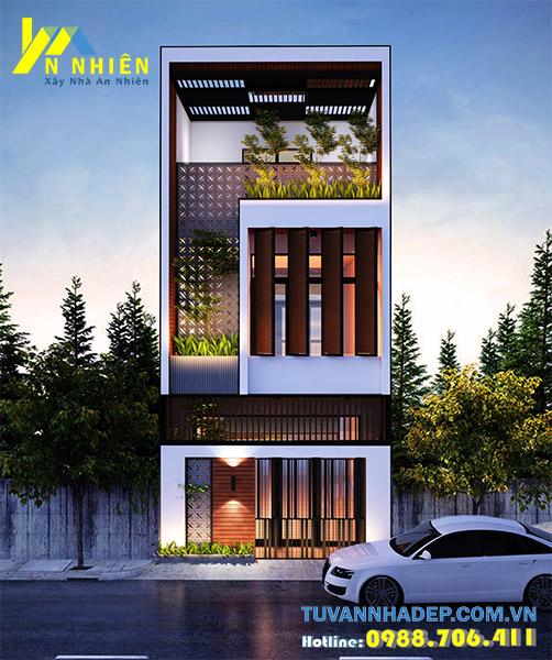 nhà phố 2 tầng mặt tiền 5m