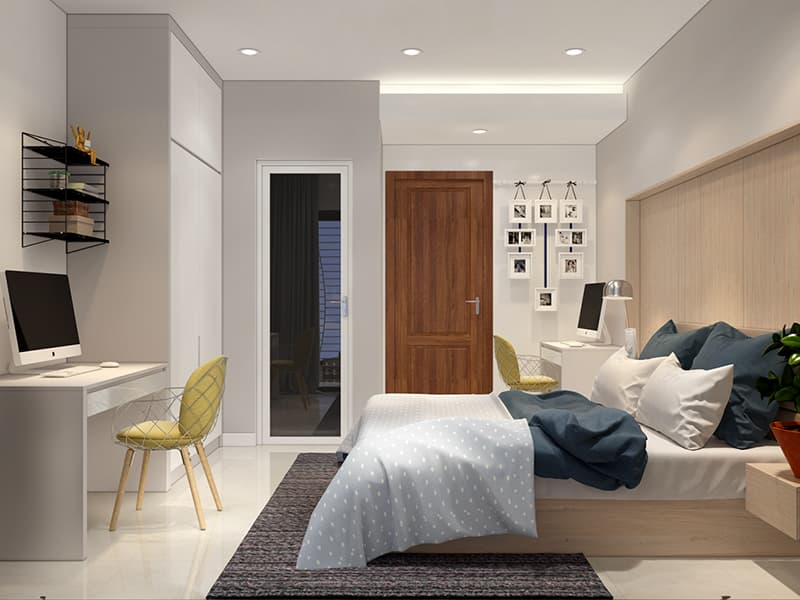 Cách trang trí phòng ngủ 20m2