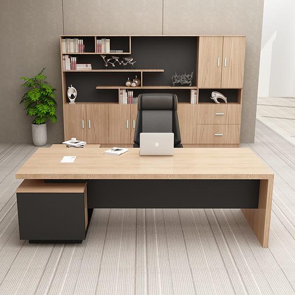 Bàn ghế gỗ phòng làm việc