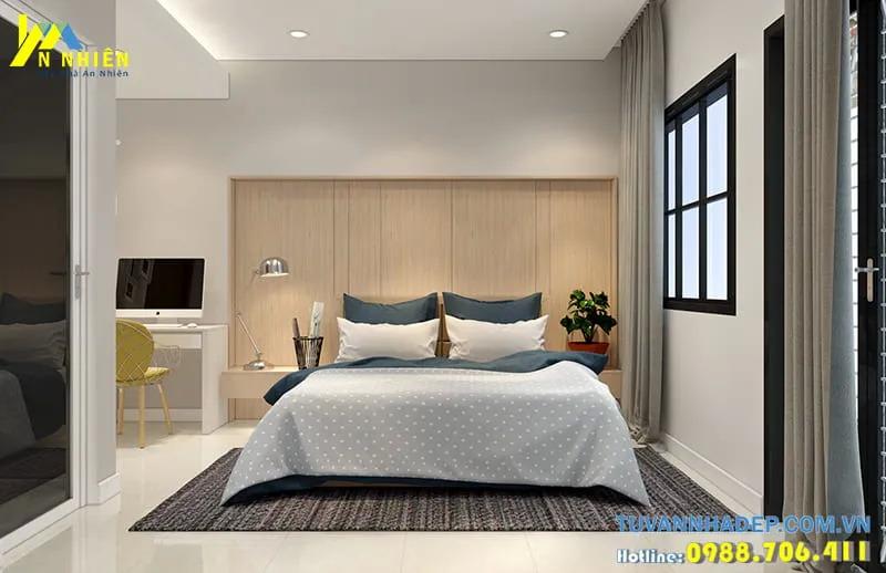 Bố trí nội thất phòng ngủ nhà cấp 4