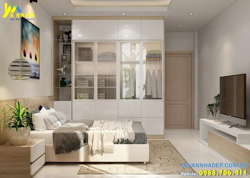 Thiết kế phòng ngủ cho nhà cấp 4 diện tích 7x15