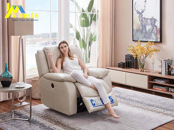 hình ảnh mẫu sofa da đơn