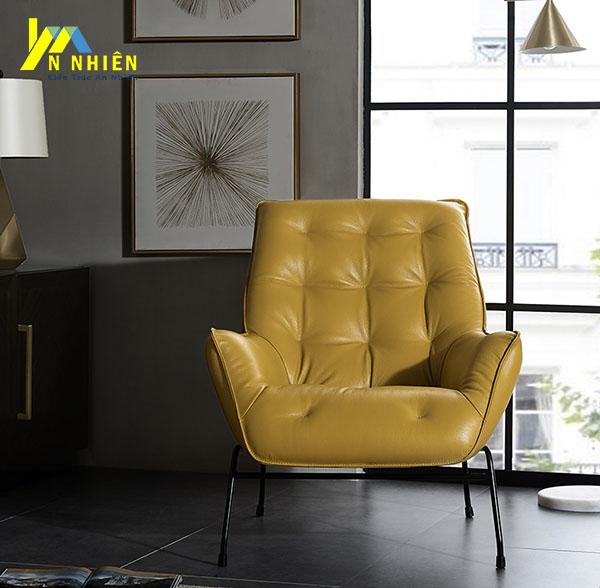 hình ảnh mẫu sofa da đơn đẹp