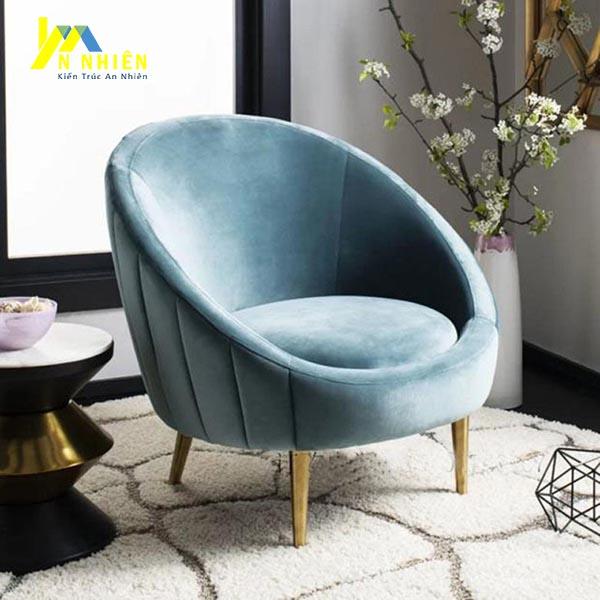 sofa đơn tròn