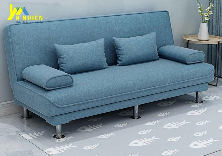 mẫu ghế sofa màu xanh ngọc