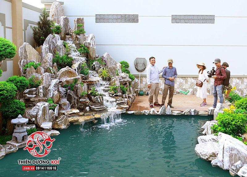 Đơn vị thi công hồ cá Koi Sài Gòn